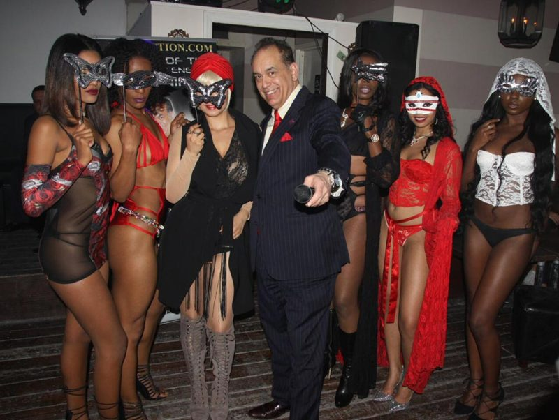 Alan-Action-and-his-Masquerade-Models-November-2016